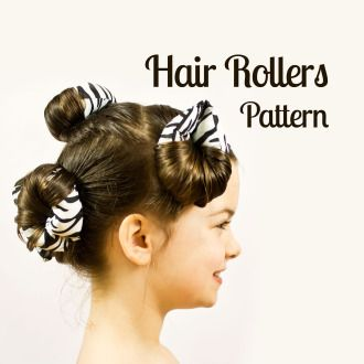 Hair roller pattern | Sewing Pattern | YouCanMakeThis.com
