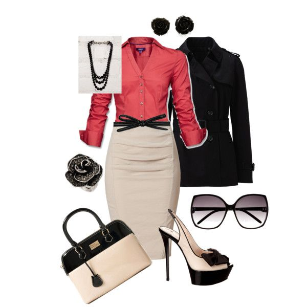 Perfect for work! - Office Time, created by maryfer99 on Polyvore