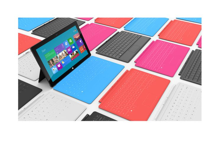 Surface by Microsoft.