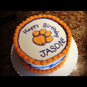 Best Clemson Images On Pinterest Clemson Clemson Tigers And - Clemson birthday cakes