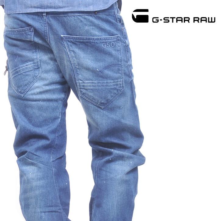 G-STAR RAW (ジースターロー) デニムパンツ BIKER ARC 3D LOOSE TAPERED【送料無料】dm-gs-171