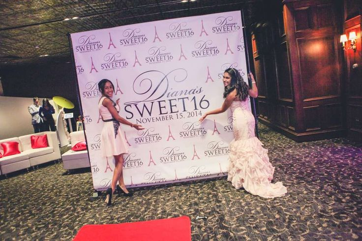 """Diana's Sweet 16 -         """"A Night In Paris""""   CatchMyParty.com"""