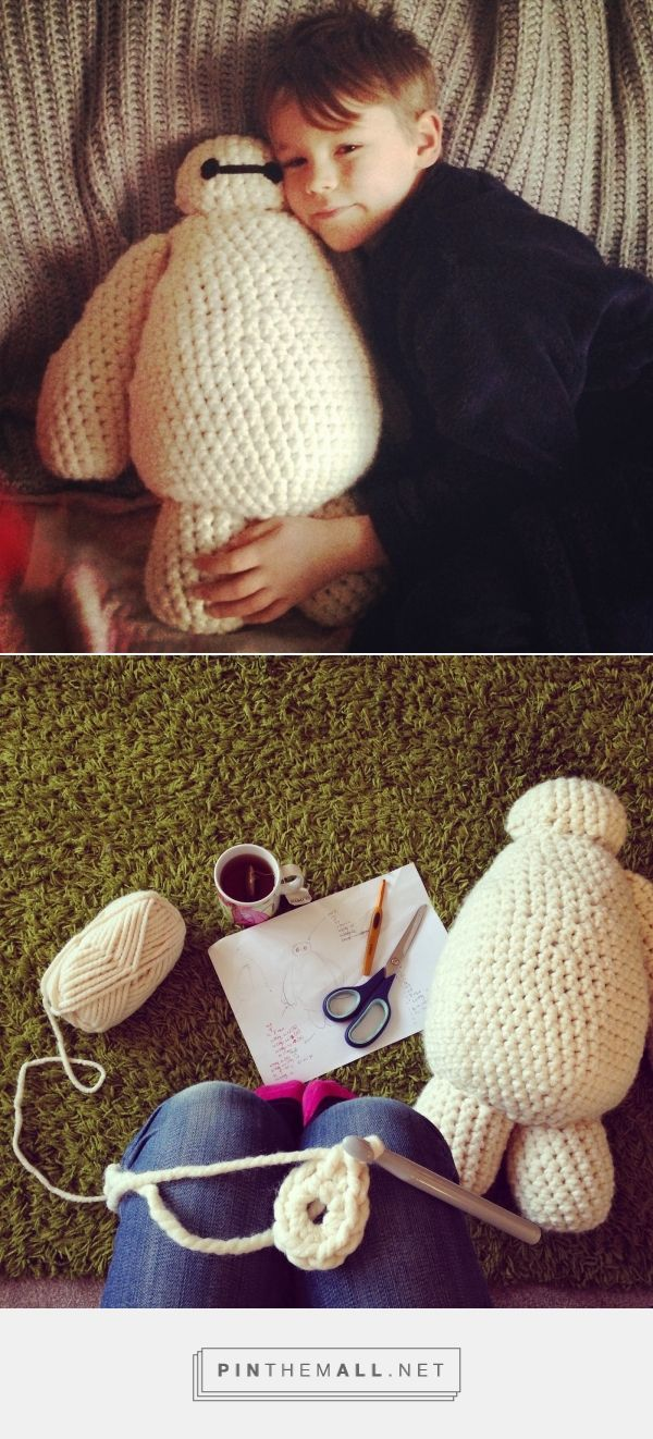 steel & stitch: Free Baymax Crochet Pattern ...