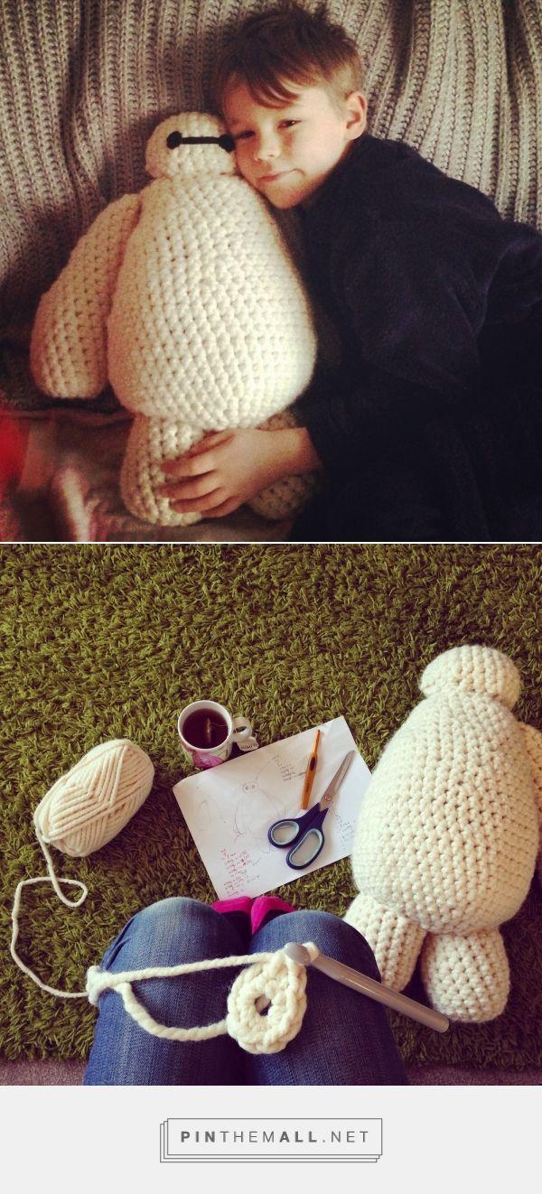 steel & stitch: Free Baymax Crochet Pattern ...