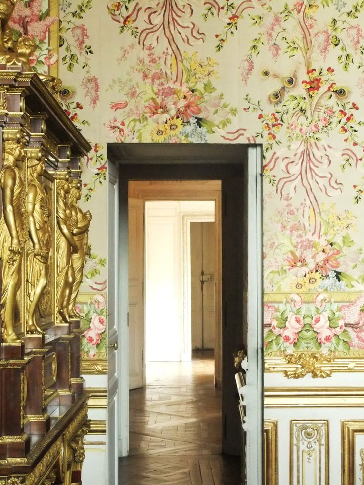 Versailles secret passage from one bedroom to another baroque rococo - Passage secret maison ...