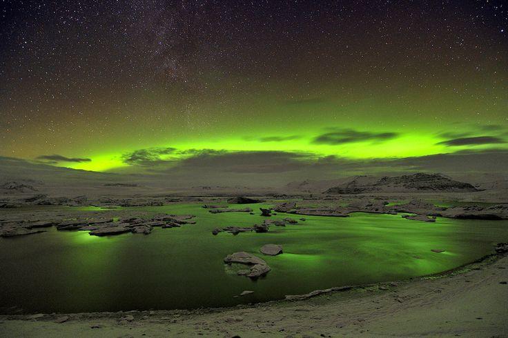 Iluminando el lago