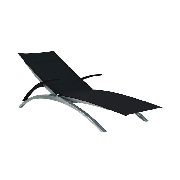 Contemporary lounge chair / stainless steel / indoor / garden - OZN 195 T by Kris Van Puyvelde - Royal Botania - Videos