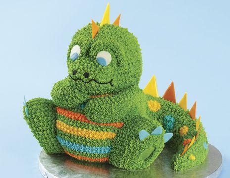 dinosaur cake pan 3 d | 3D Dinosaur Cake Luke's bday cake