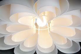 bloemen lamp