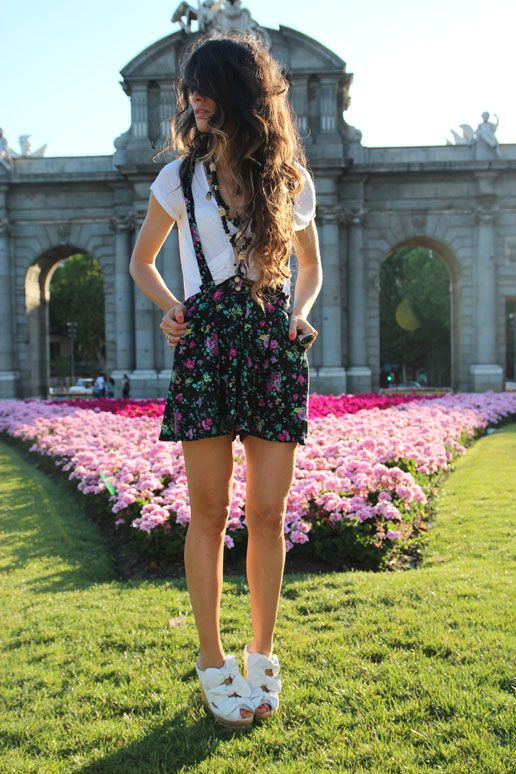 : Floral Rompers, Inner Fashionista, Fashion Addiction, Fashion Design, Jador Fashion, Campbell Shoes, Chic Style, Ads Style, Gorgeous Style