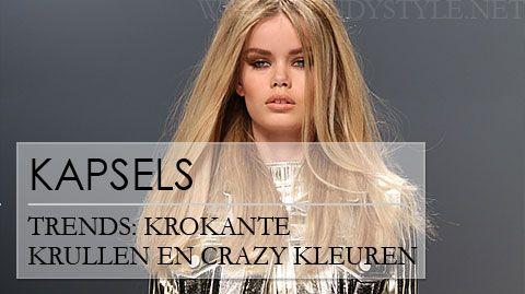 Kapsel tips voor winter 2012 2013: krokante krullen en vintage vlechten - Trendystyle, de trendy vrouwensite