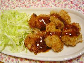 豚こまで節約☆簡単やわらか☆一口とんかつ by まどりんこ [クックパッド] 簡単おいしいみんなのレシピが261万品