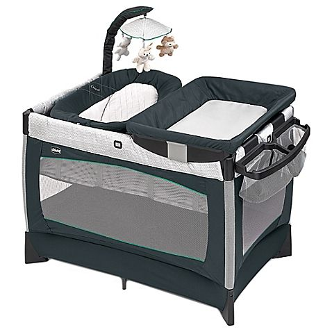 The Chicco Lullaby is a 3-stage playard that makes it easy to create a cozy space for your baby while also serving as a practical care-station for parents. It offers a variety of sleeping and relaxing configurations, and is extremely portable.