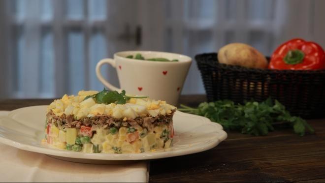 Salada Russa - Prato do Dia 2 | 24Kitchen