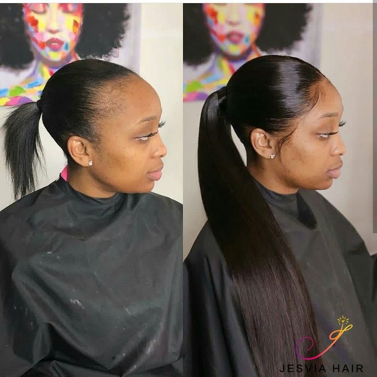 Brazilian Straight Hair 3 Bundles With 4x13 Lace Frontal