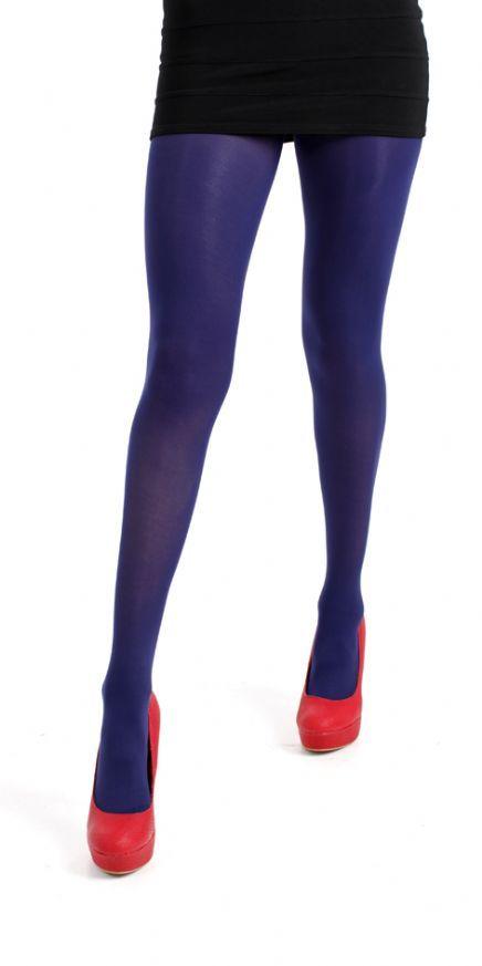 Indigo (paars) gekleurde panty van Pamela Mann. Volledig transparant tot de tailleband. Opaque 50 denier. 3D elastane zorgt voor duurzaamheid en betere draagcomfort. Mooie indigo paars gekleurde benen. Kleur: Indigo. Maat: One size.