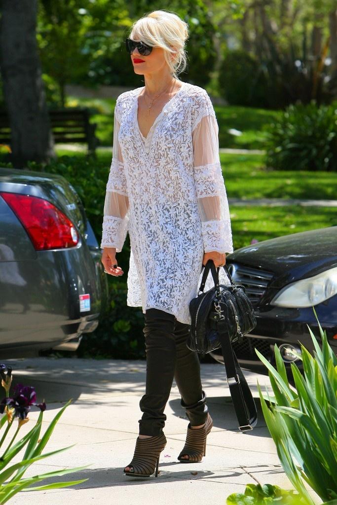 Gwen Stefani. Love this look!