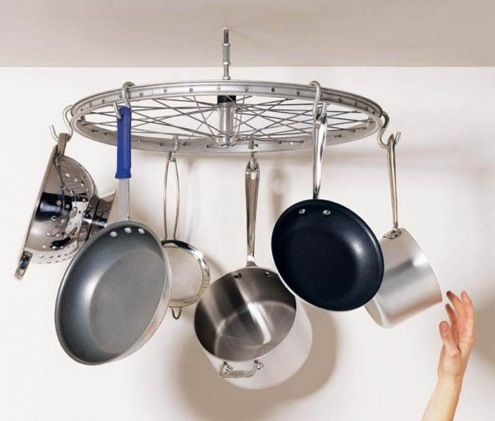 great way to store pots and pans