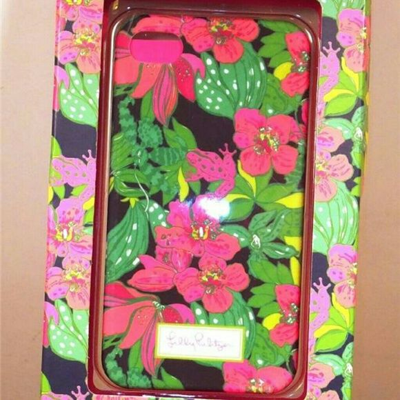 SOLD ~ Lilly Pulitzer iPhone 4 case Skip on It Sold on my website. 👠 ~ BOGO HALF OFF ~ This clever and colorful soft touch Lilly Pulitzer iPhone 4 case is sure to stand out as you LOL with your BFF. And this Lilly Pulitzer iPhone 4 cover offers direct access to all features. Sleek and durable with soft touch protective coating. Lilly Pulitzer Accessories