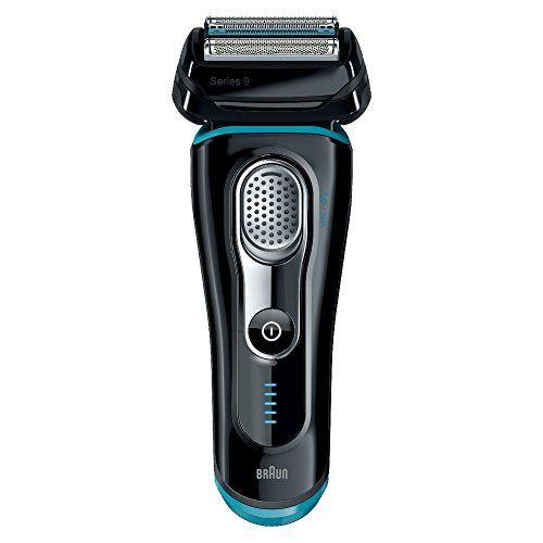 Braun Series 9 9040s elektrischer Rasierer (Rasierapparat, Elektrorasierer einsetzbar als Trockenrasierer und Nassrasierer (Wet und Dry)) blau/schwarz