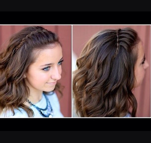 School hairstyles for teen