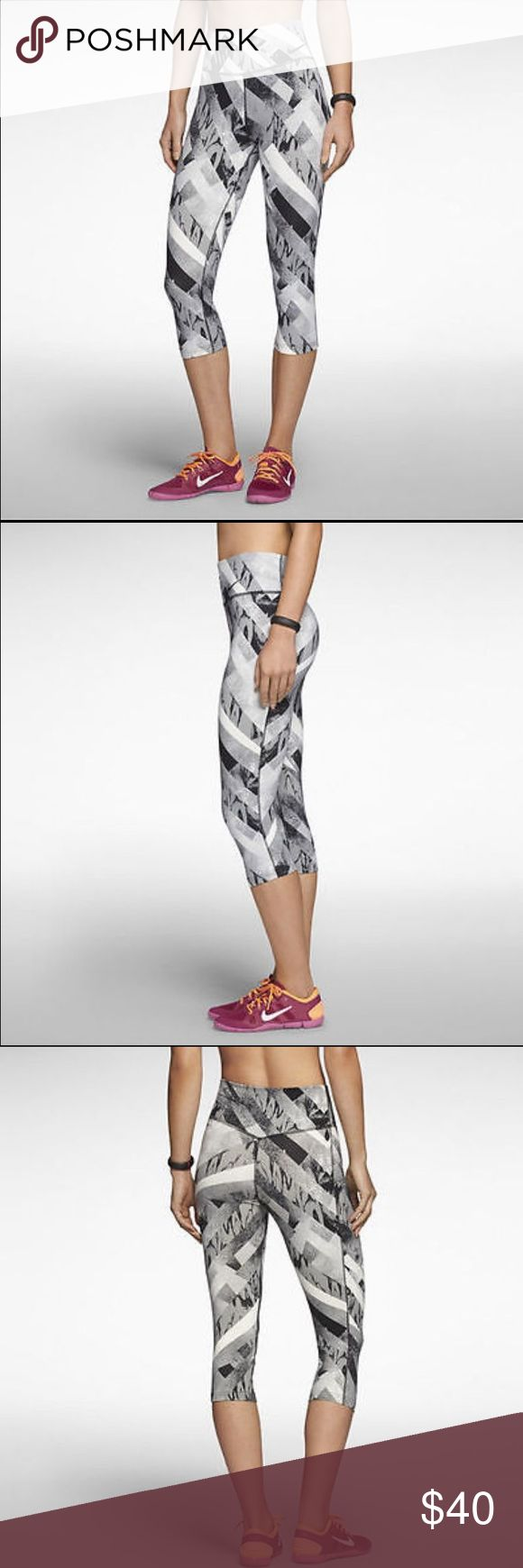 Women's legendary print tight training capris Featuring the softest fabric of any Nike training pants, the Nike legendary print tight women's training capris are designed with feminine lines and a fit that hugs your legs from hip to hem for maximum comfort and a flattering look during your workout. Nike Pants Capris