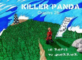 killer panda le repos du guerrier by Baubierclement