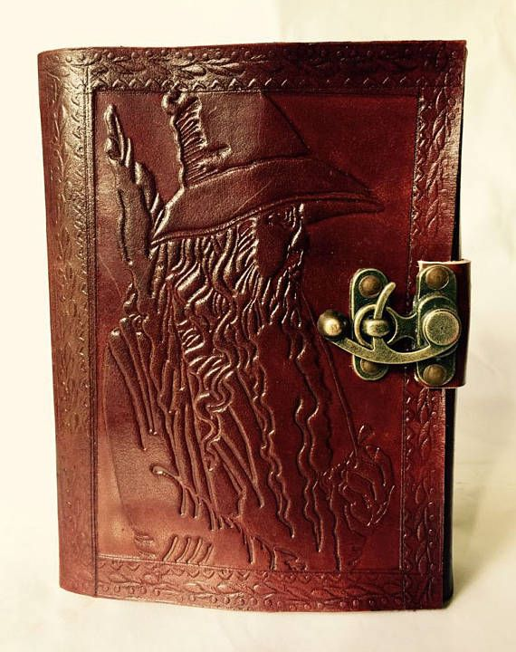 Leather Journal // Wizard Journal // Blank leather journal