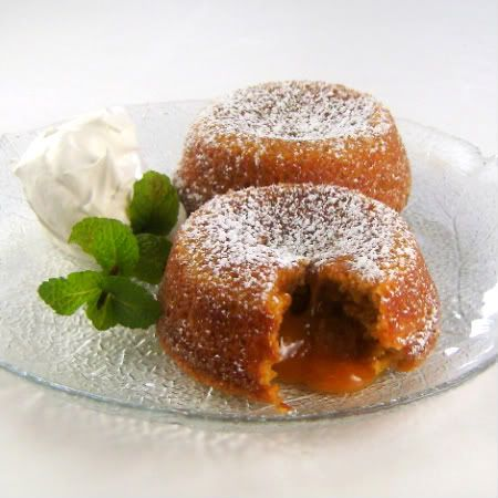 Butterscotch Molten Lava Cakes