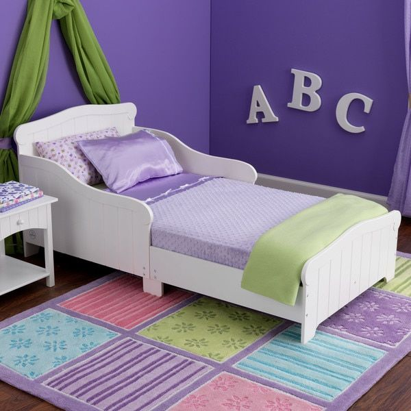 kidkraft nantucket white toddler bed shopping the best prices