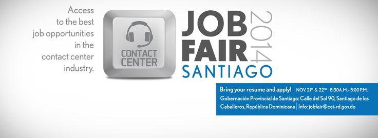 CEI-RD Anuncia Gran Feria De Empleos En Santiago Para Call Centers