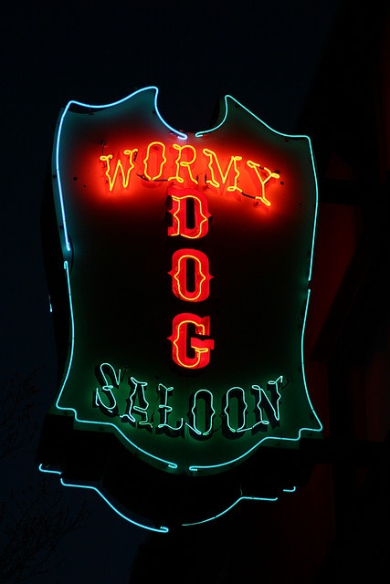 old stompin grounds...the Wormy Dog Saloon in OKC...original was in Stillwater, OK