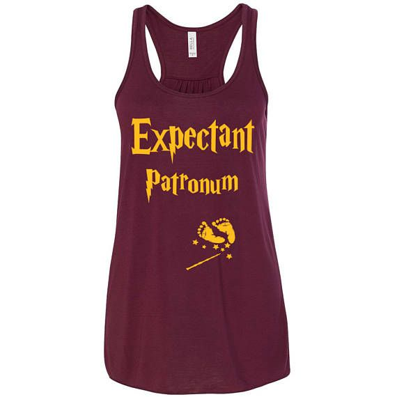 Harry Potter Pregnancy Announcement Racerback Tank Preggers