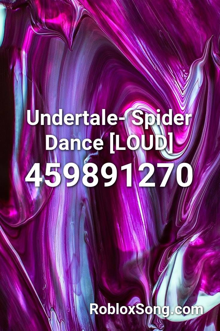 Undertale Spider Dance Loud Roblox Id Roblox Music Codes Roblox Wishing Well Spider Dance