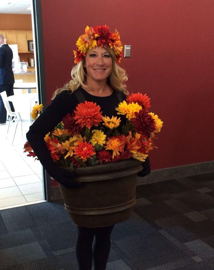 My flower pot costume!                                                                                                                                                      More