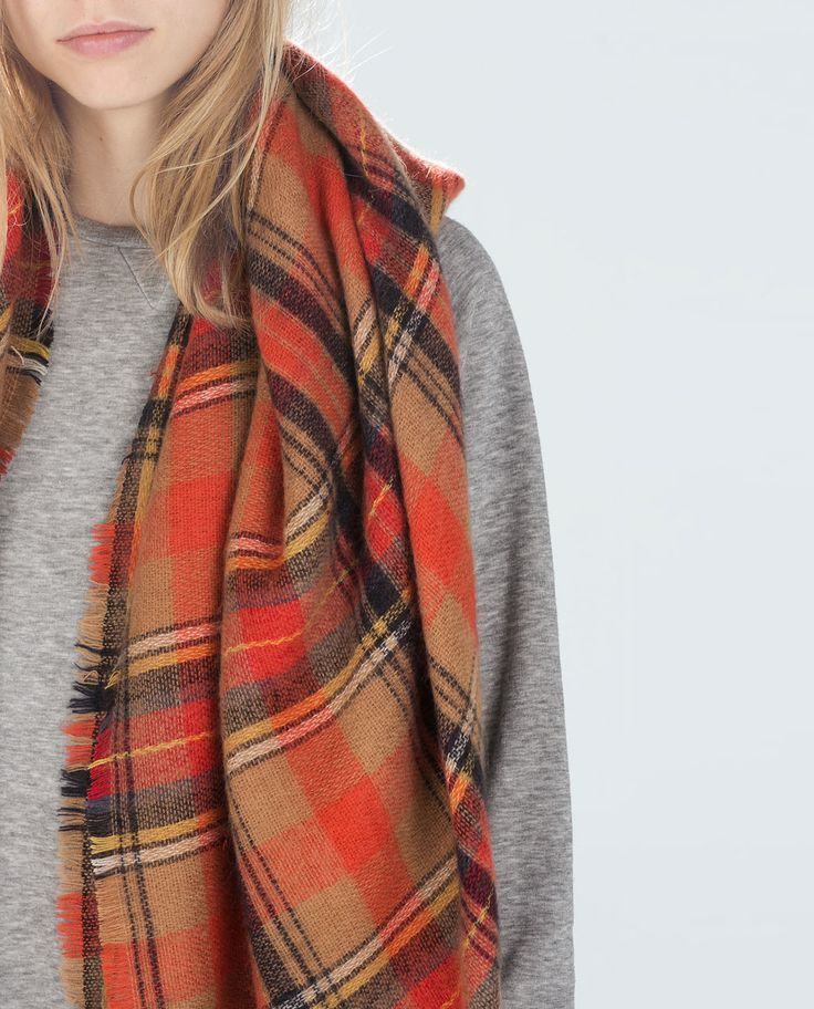CHECKED SOFT SCARF-Scarves-Accessories-WOMAN | ZARA United States