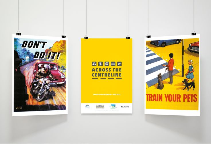 Across the Centerline Posters