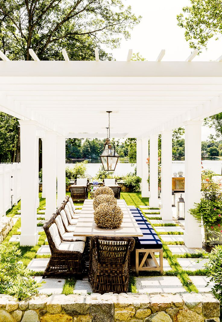 Charming 7 Totally Exquisite Outdoor Dining Rooms