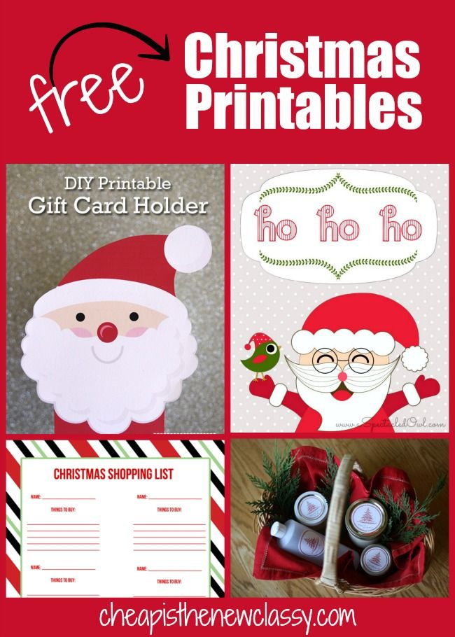 182 best free printables images on pinterest free printable free are you looking for some christmas gift tags coloring sheets or shopping lists check out these 10 cute festive free christmas printables negle Images
