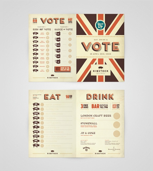 """Voting Card"" Ribstock by Ello Mate!  www.ellomate.co.uk"