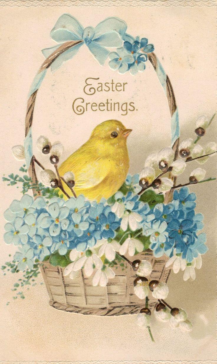 Vintage Easter Postcards   Antiques for Today's LifestyleMargaret Surratt