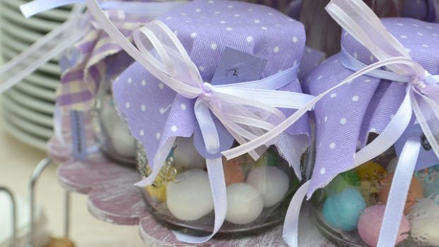 Le bomboniere per il battesimo di un bambino o di una bambina