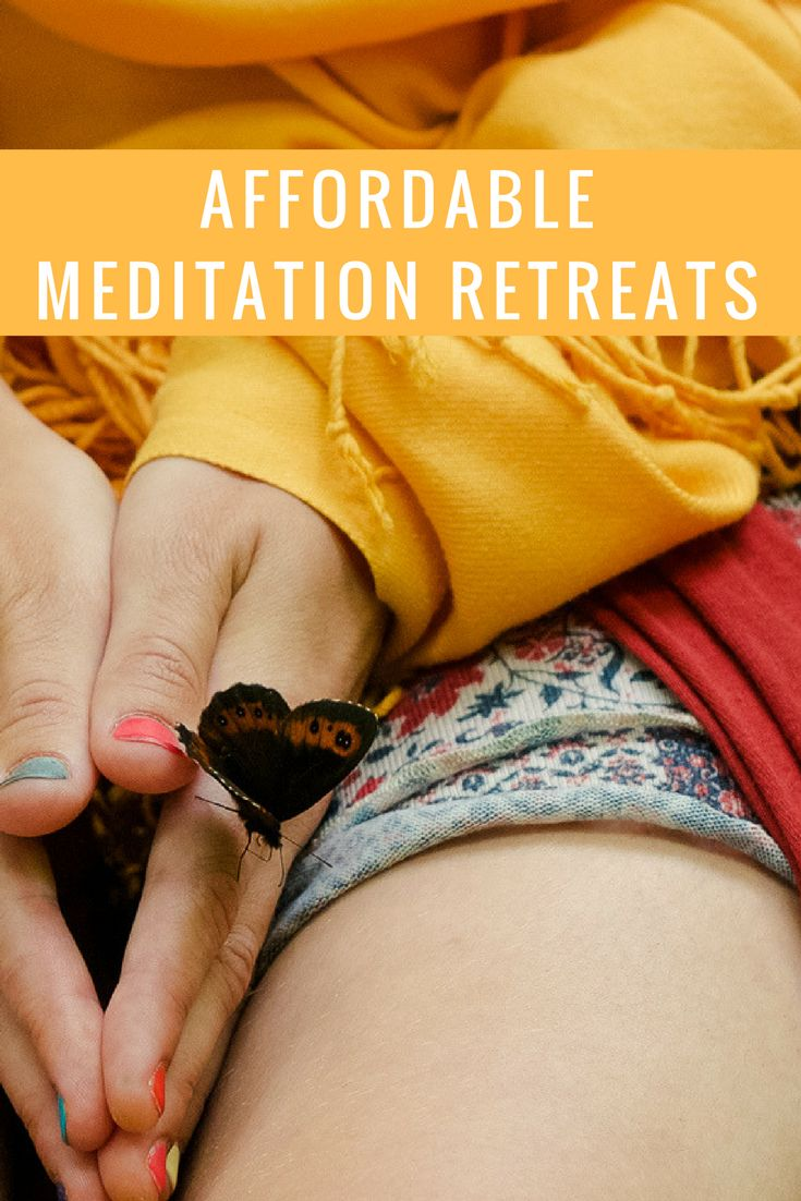 Everyone needs to take time out sometimes. Luckily, there are lots of affordable meditation retreats around the world. #meditation #meditationretreat #retreat #wellness