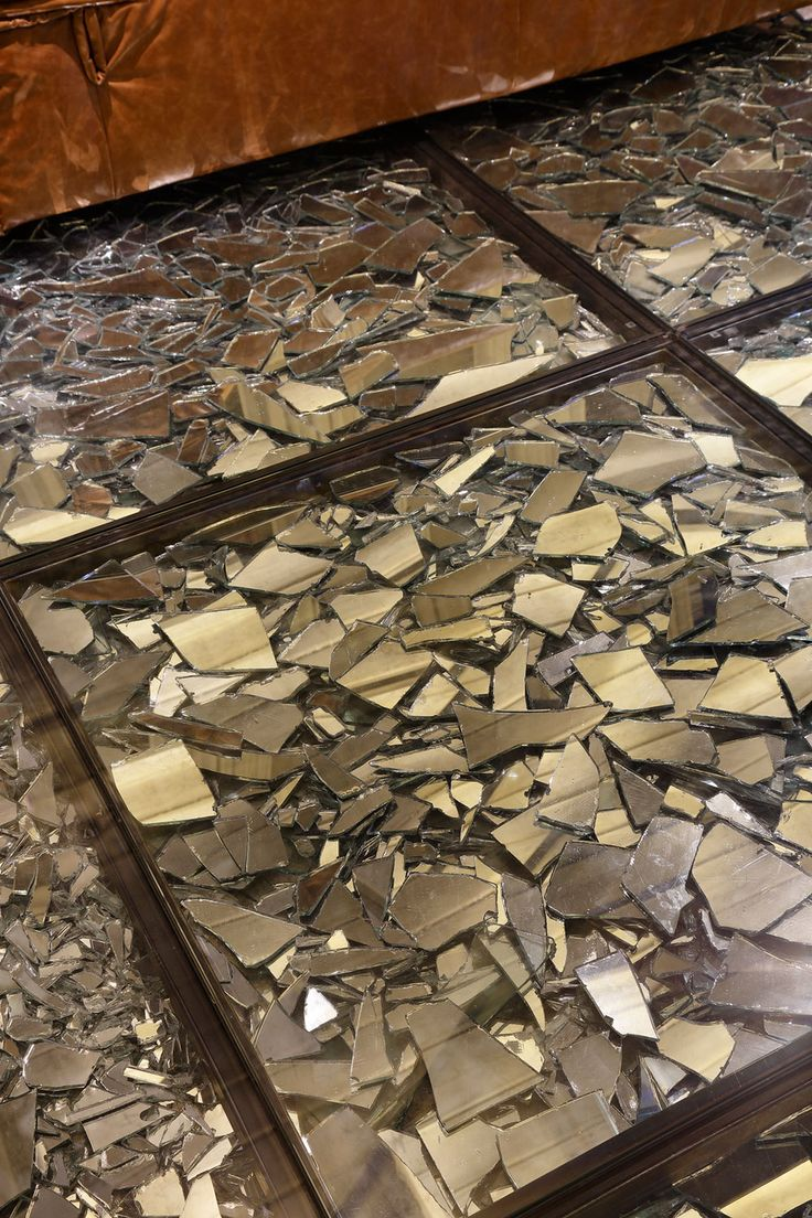 Stylish and Eclectic Design with Broken Glass Floor of Lab LZ for Casa Cor Rio 2015 by Giselle Taranto Architecture-12