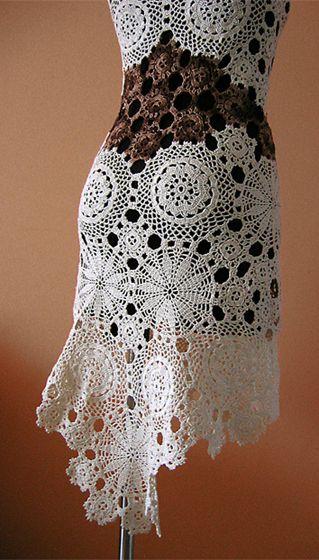 www.polandhandmade.pl, #polandhandmade, #dress, #crochet