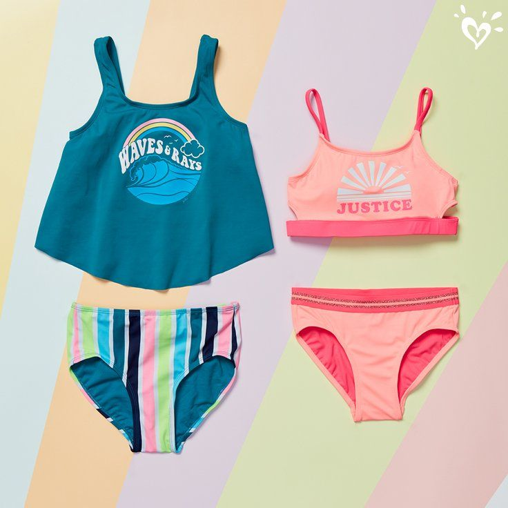 Cool Color Changing Graphics Make Sunny Days That Much More Awesome Girls Outfits Tween Kids Dance Outfits Justice Clothing Outfits