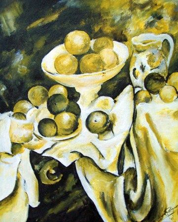 17 best images about paul cezanne on pinterest delft for Famous monochromatic paintings