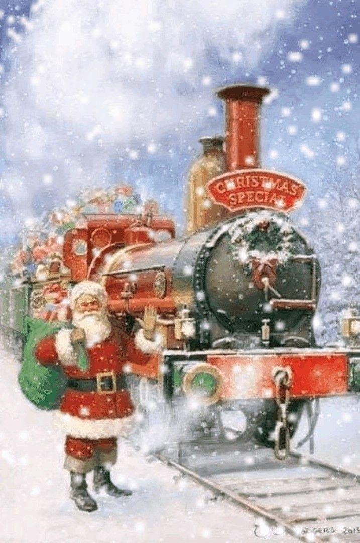 Weihnachtsbilder Und Videos.Pin Von Albano R Auf Weihnachten Vintage Weihnachten