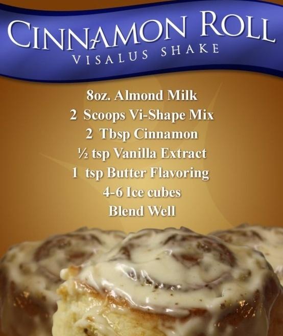 Body By Vi Cinnamon Roll Shake Recipe  ryanmotley.bodybyvi.com