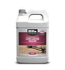 Concrete, Brick & Tile Low-Lustre Sealer - Floor | Behr Paint